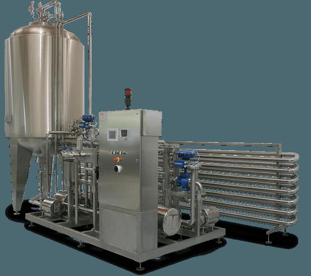 Pasteurization unit temperature monitoring from tenova systems