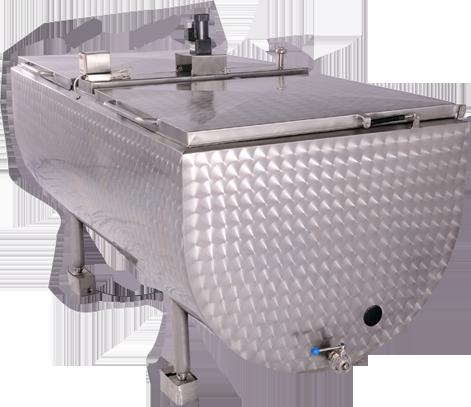 Temperature Monitoring for the milk chiller unit