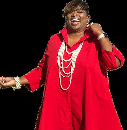Gail Red Shirt laugh.png
