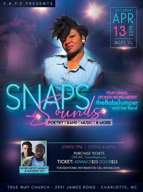 Snaps N Sounds Featuring theBabyJumper