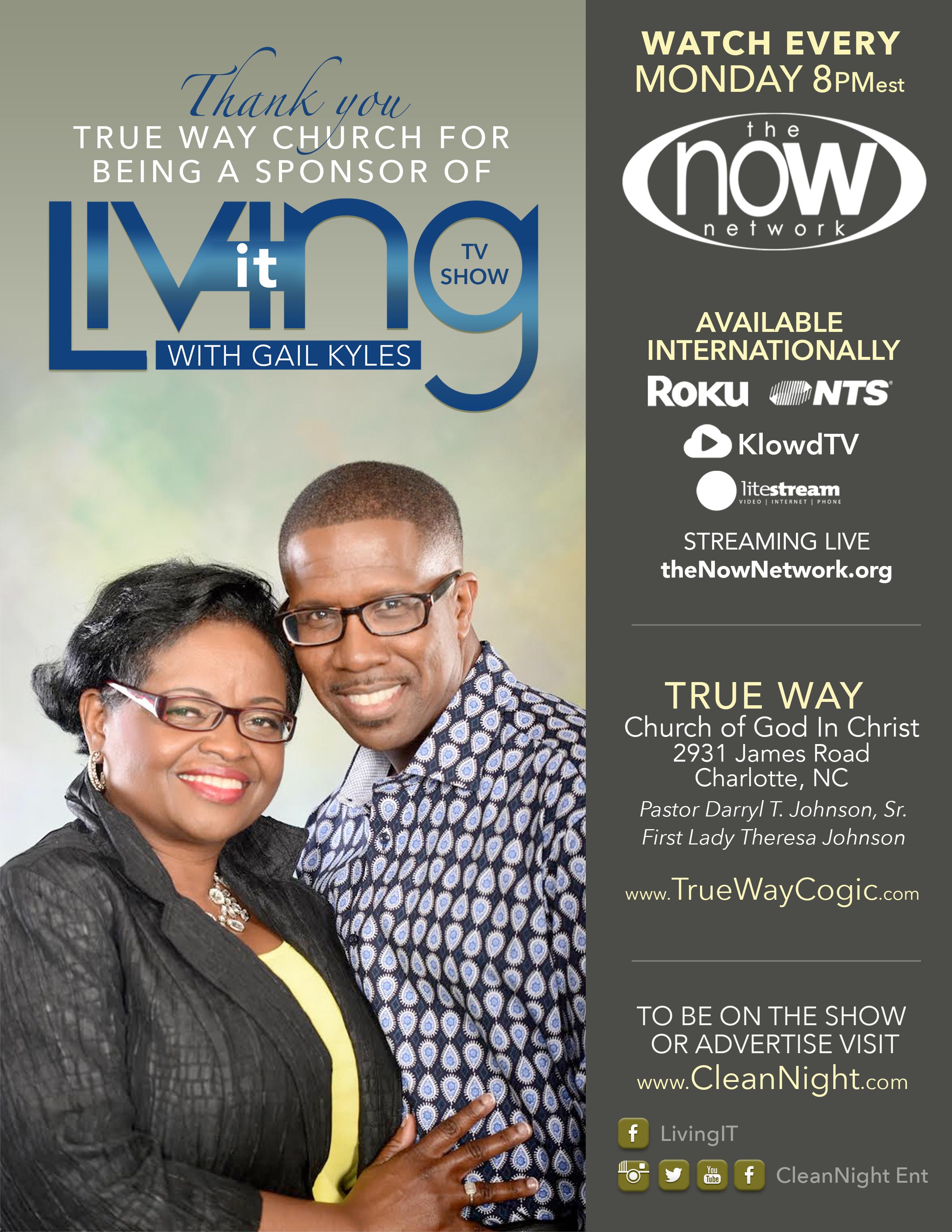 Living It Sponsors Flyer