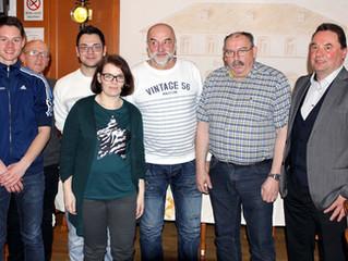 JHV 2017: Klaus Hänel ist seit 50 Jahren beim LSC