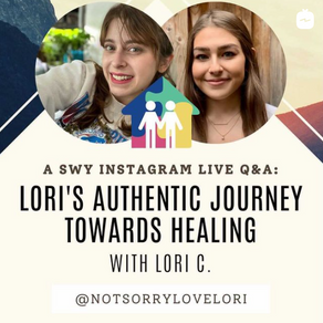 Authentic Journey Towards Healing: Our Instagram Live with Lori C
