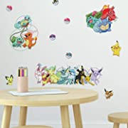Pokemon Wall Decals (200pts for 50 stickers)