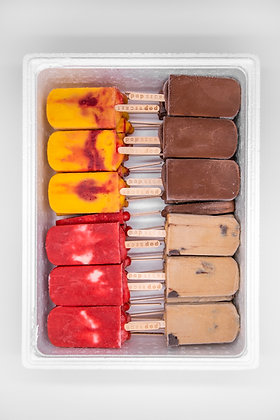 Gourmet popsicles | Box of 50
