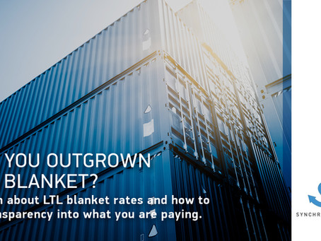 Have you done a deep dive on LTL blanket rates?
