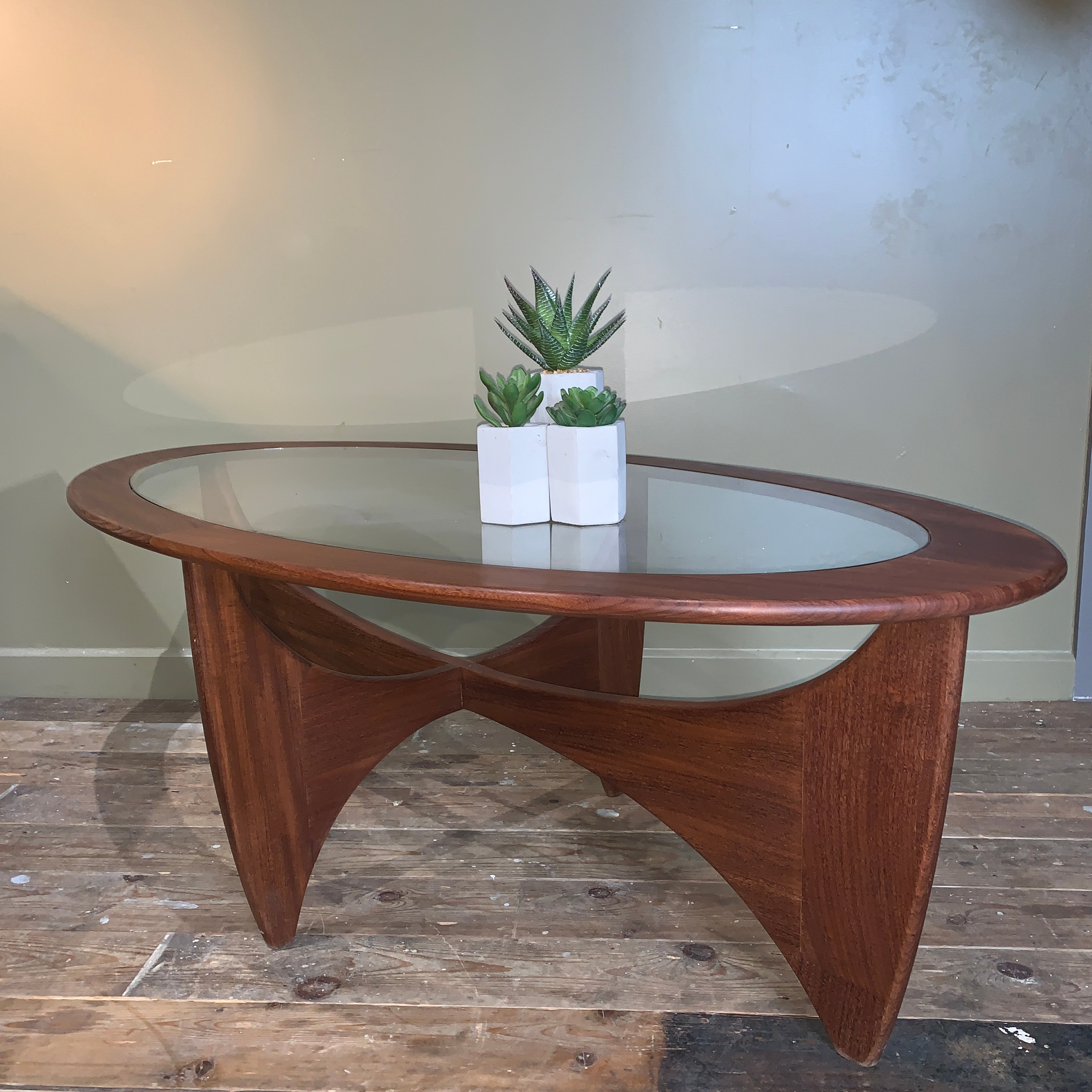 Astro Coffee Table.G Plan Astro Oval Coffee Table