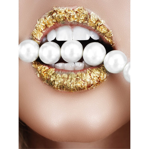 Gold Pearl Lips