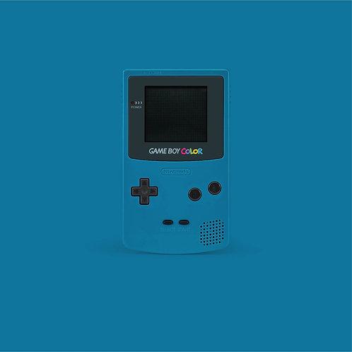 GameBoy Color Blue