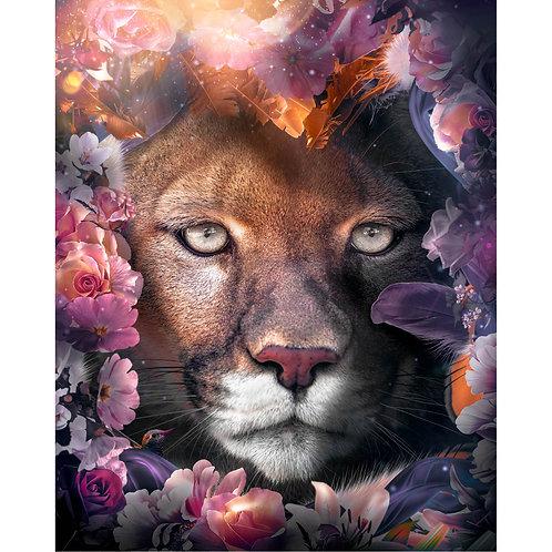 Floral Cougar