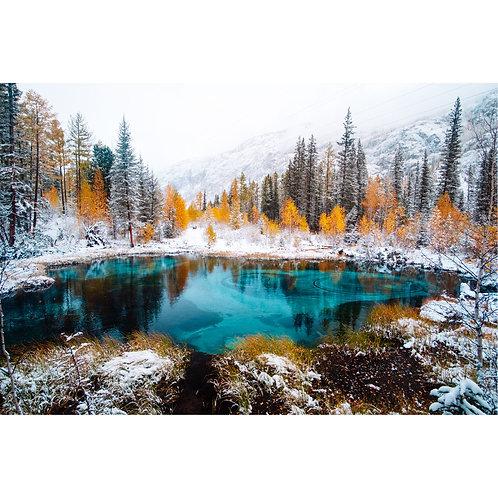 Snow Surround Water