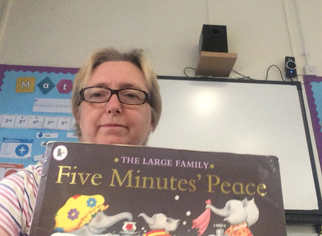 Story time with Mrs Darch
