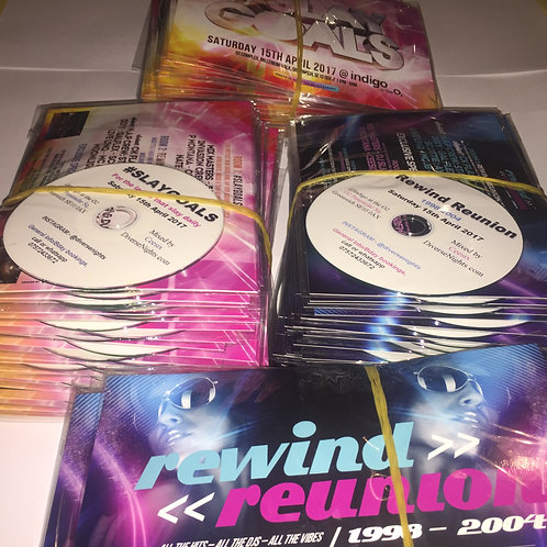 1000 Cds and flyers printed and packed in a5 sleeves