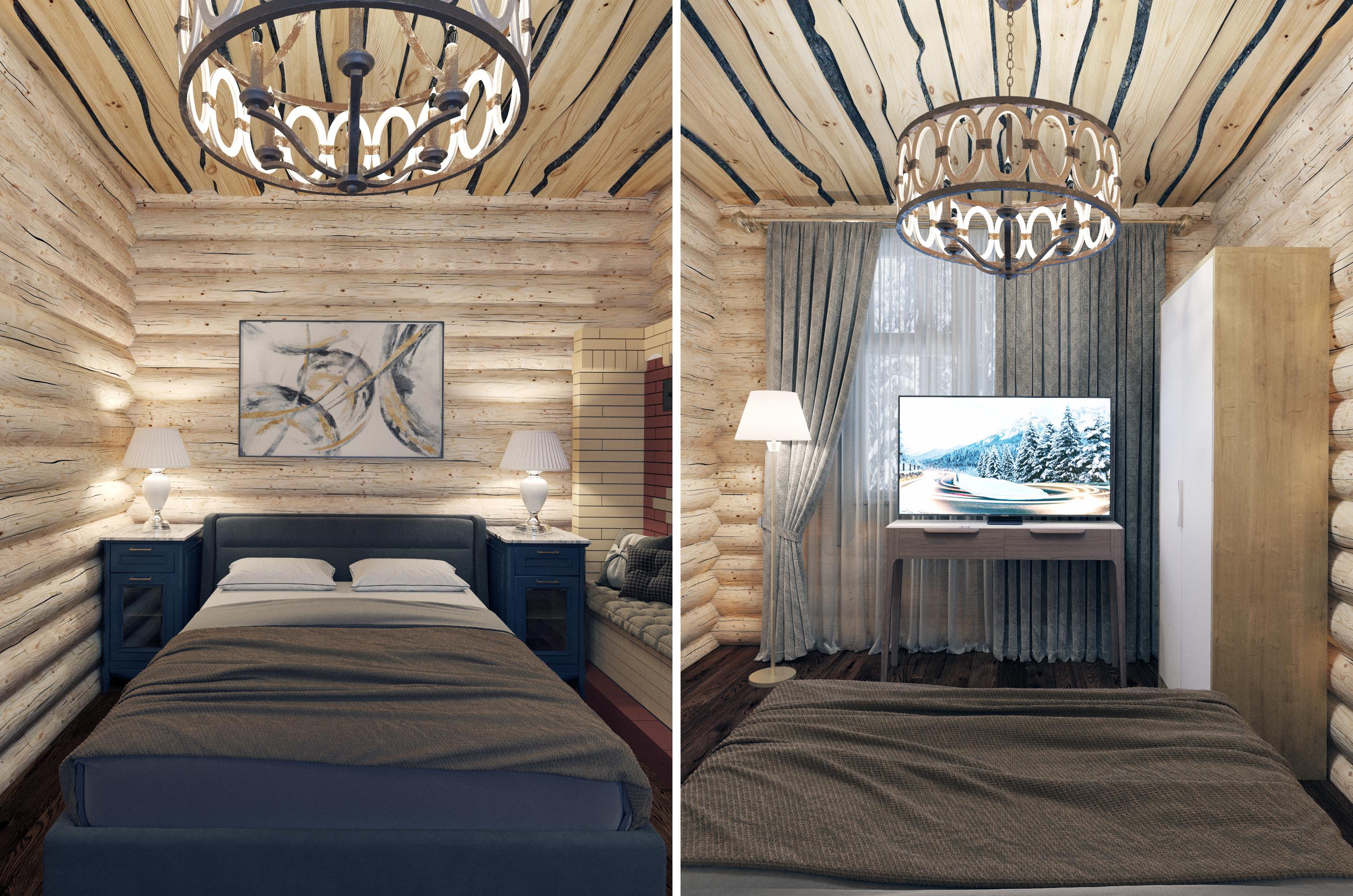 Дизайн проект срубового дома, на берегу реки Вуокса