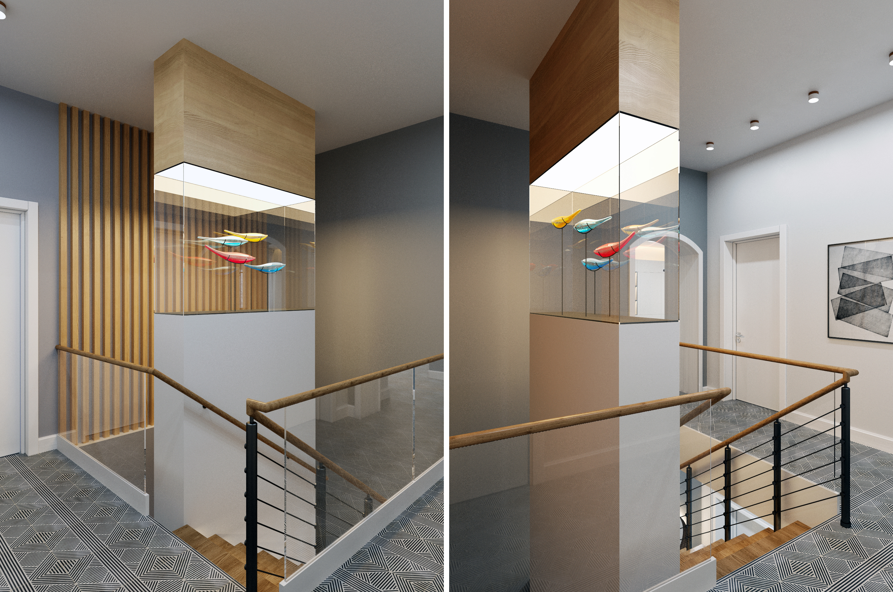 Дизайн проект частного дома в скандинавском стиле