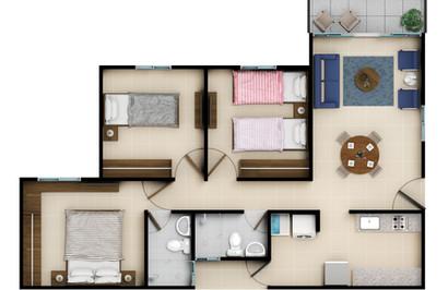 1er piso Acabado