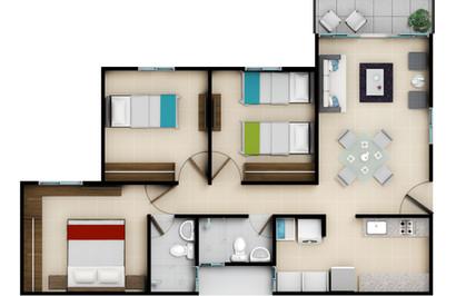 2-3 piso Acabado