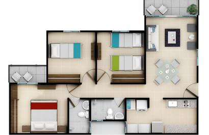 4o piso Acabado