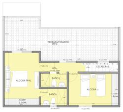 Penthouse A 2do Piso
