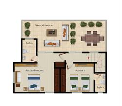Penthouse B 2do Piso
