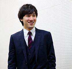 BusinessContestKING実行委員会代表佐藤さん(2017年度)