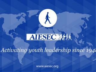 AIESEC神戸大学委員会 副代表阿部さん(2016年度)