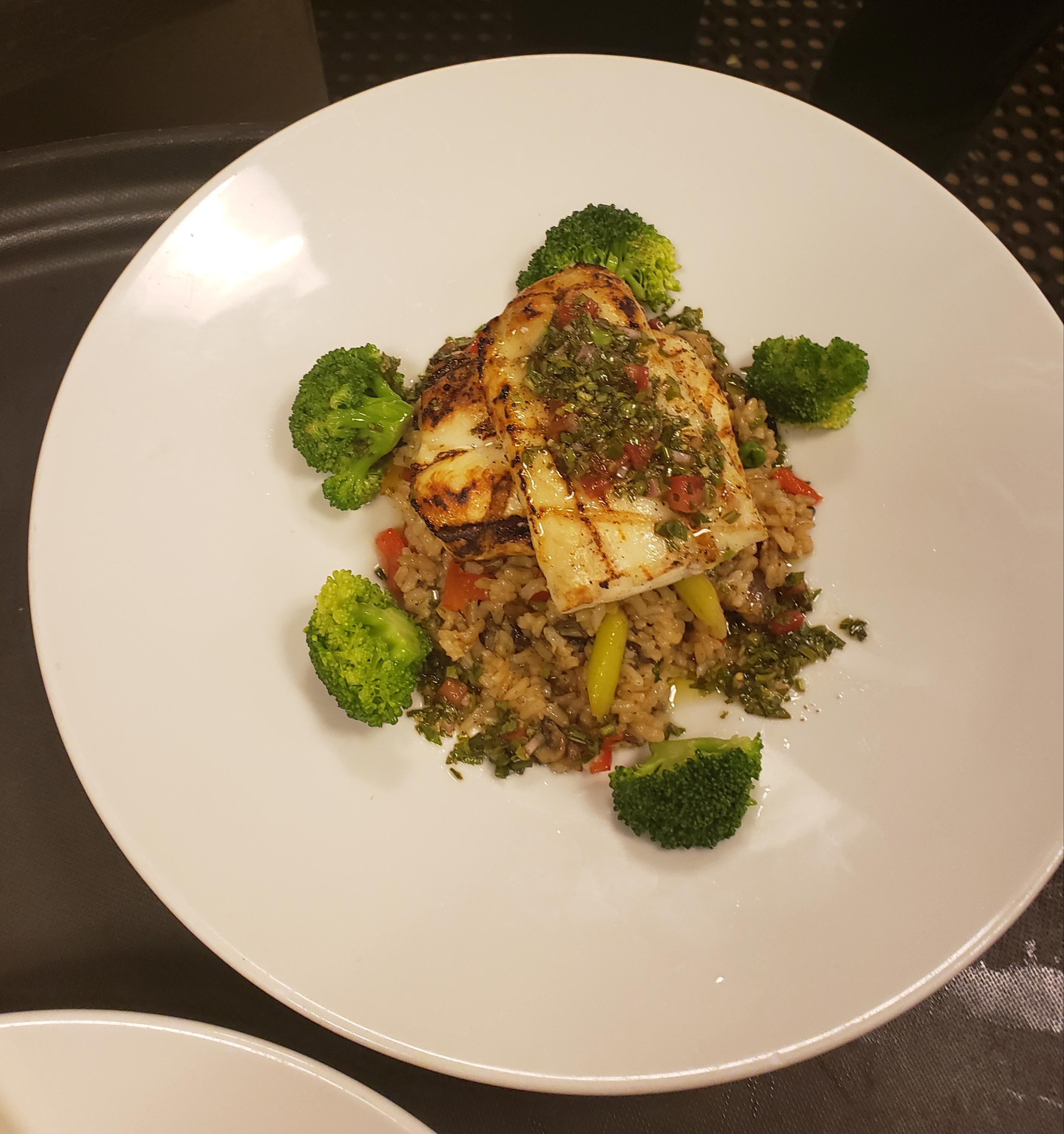 Mahi Mahi with Quinoa