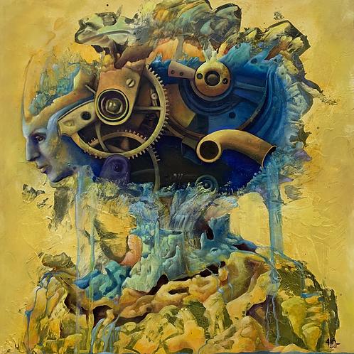 Aquarius - gicleé print