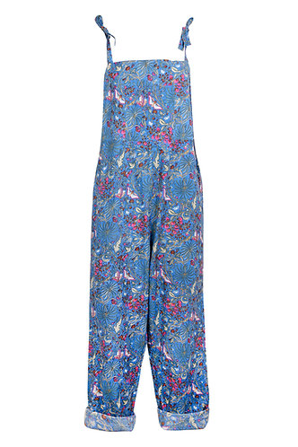 Dungarees - Blue Butterfly