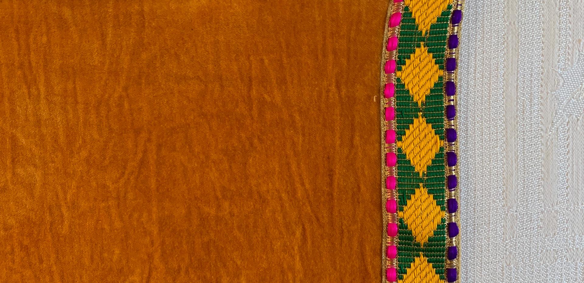 Golden Yellow/Diamond Braid