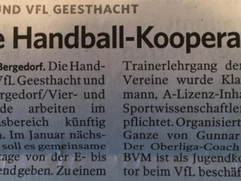 Bergedorfer Zeitung 5. November '19