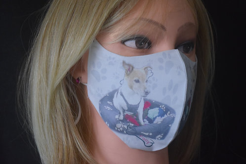 Your Own Photo of Your Dog/Cat Mask/Face Covering