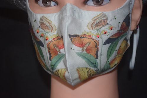 Butterfly Bling Mask/Face Covering