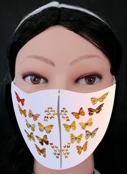 Butterflies 2 Mask Model