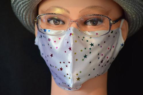 Silky Stars Bling Mask/Face Covering