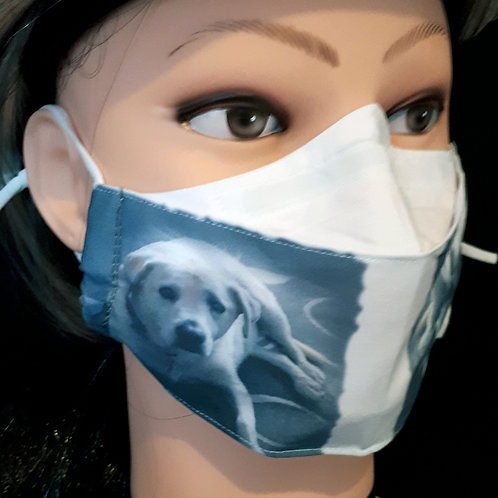 Your Own Doggy Lab Mask/Face Covering