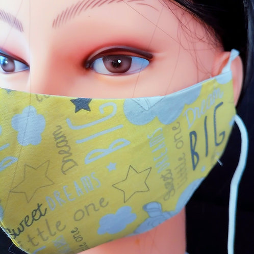 Dreams Rounded Mask/Face Covering