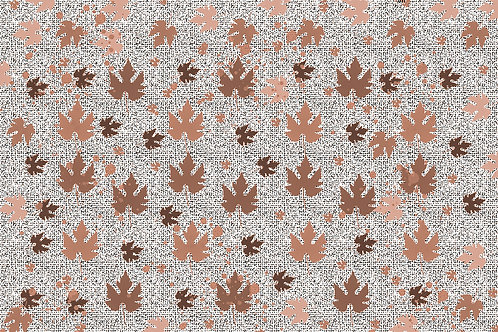 Autumn Leaves Brown Background
