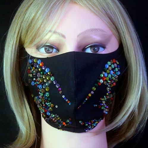 Butterfly All Bling Mask/Face Covering