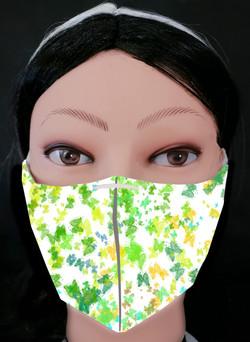 Butterflies Grunge 4 Mask Model