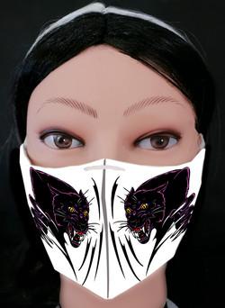 Purple Predator Mask