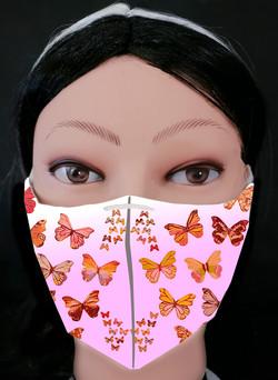 Butterflies 1 Mask Model