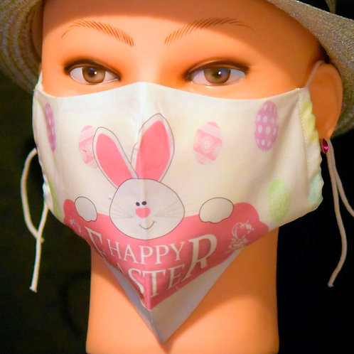 Easter Bunny Mask/Face Covering