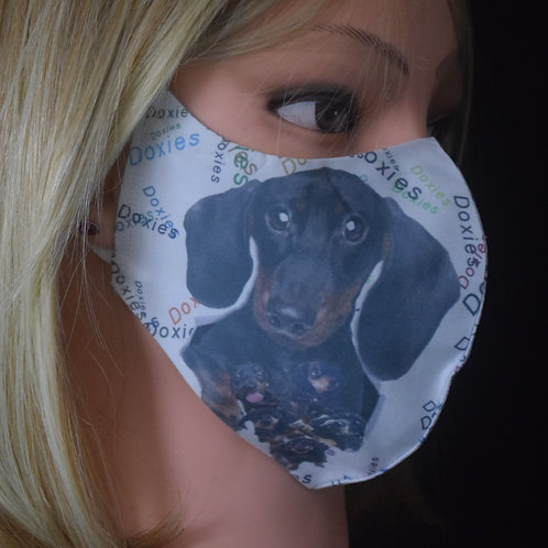 Doxies (Dachshund) Mask/Face Covering