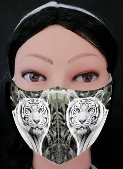 White Tiger 2 Mask Model