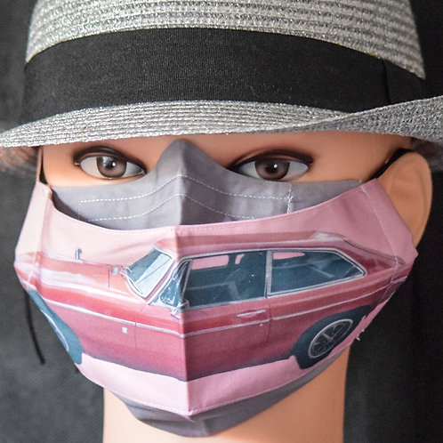 Your Own Car (Mans) Mask/Face Covering