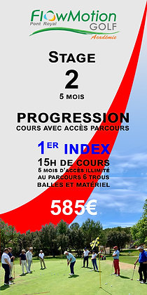 1ER INDEX 5 MOIS PROGRESSION