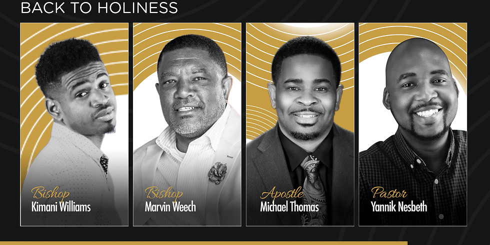Men's Conference: Back to Holiness