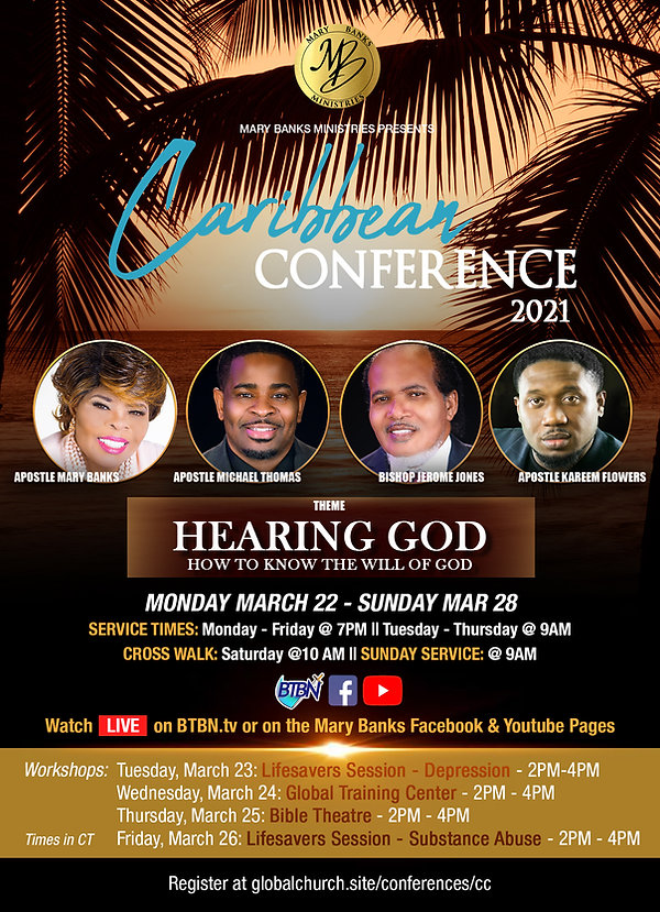 Caribbean Conference 2021 Flyer