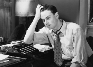 The real nightmare is NOT having writer's block